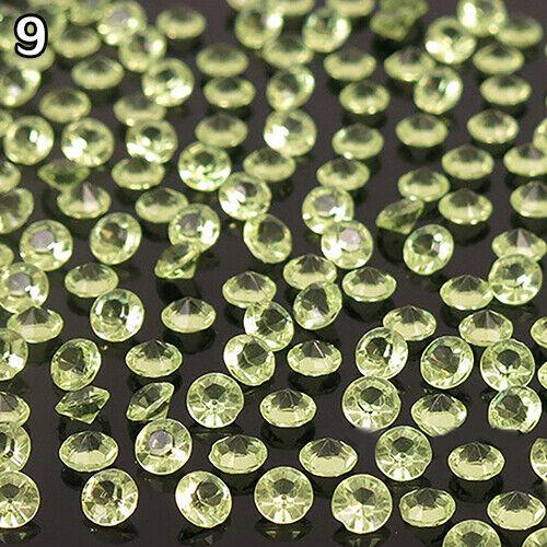 BE/_ 2000pcs 4.5mm Wedding Decoration Crystals Diamond Table Confetti Party Scatt