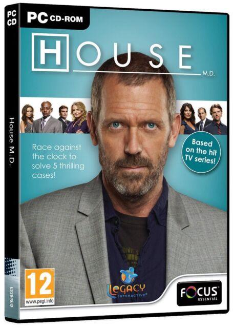 House M.D.  PC cdROM. New/sealed