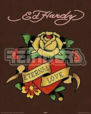 Ed Hardy, eternal love, Poster 40 x 50 cm