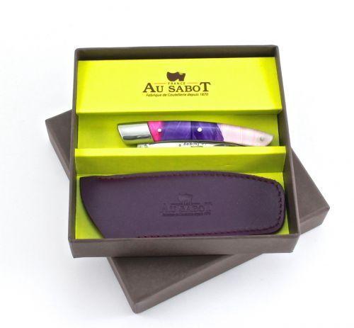 AU SABOT Le Thiers Acryl  Feder purplet Geschenkset 10 cm