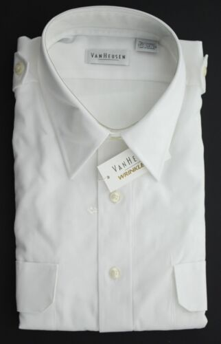 Van Heusen Men/'s Wrinkle Free Button Down Long Sleeve Dress Shirt