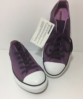 Purple Glitter Converse All Stars Women