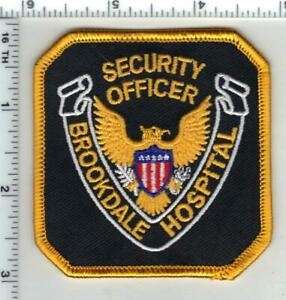 Details about Brookdale Hospital (Brooklyn, New York) Security Officer  Uniform Patch
