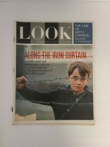 Vintage-LOOK-Magazine-January-30-1962-Along-The-Iron-Curtain-Law-Vs-Birth-Cont