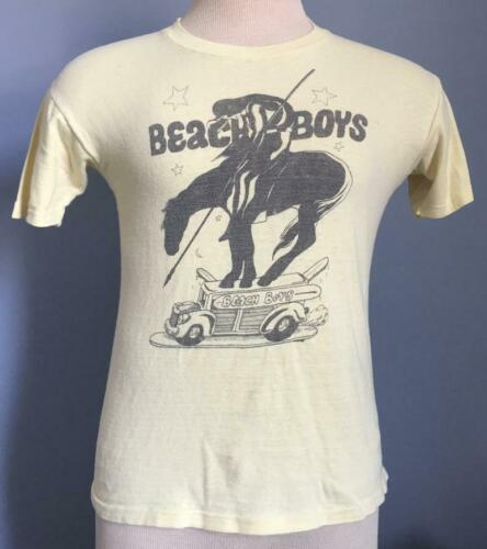 70s Vintage Beach Boys 1971 Surf's Up T Shirt XS