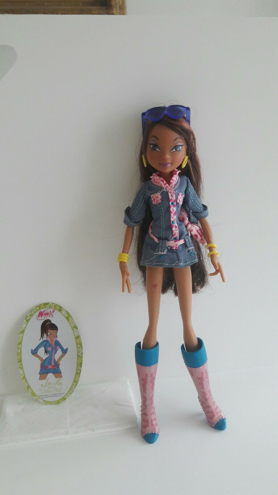 Winx Puppe Layla  Denim  Jeansoutfit  TOP