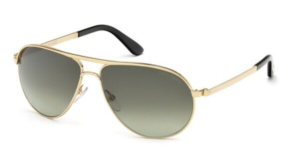 JAMES BOND 007 SKYFALL TOM FORD Marko Aviator Gold Sunglasses TF 144 18V FT 0144
