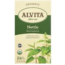 Alvita Organic Nettle Leaf Tea Bags 24 ea