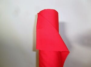 5 METRE  SUPERIOR QUALITY PLAIN RED DYED POLY COTTON FABRIC 45 - <span itemprop=availableAtOrFrom>northwich, Cheshire, United Kingdom</span> - 5 METRE  SUPERIOR QUALITY PLAIN RED DYED POLY COTTON FABRIC 45 - northwich, Cheshire, United Kingdom