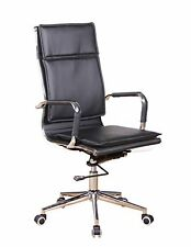 Awesome Brenton Studio Battista Black Bonded Leather Mid Back Office Squirreltailoven Fun Painted Chair Ideas Images Squirreltailovenorg