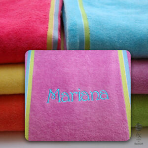 Home & Garden 70cm x 140cm 100% COTTON BEACH TOWEL HOLIDAY TOWELS 400GSM PLAIN PATTERN SIZE Bath