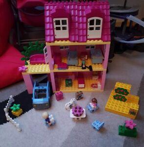 Duplo Weihnachten.Details Zu Lego Duplo Spielhaus Puppenhaus 4966 Spielzeug Weihnachten Puppenstube