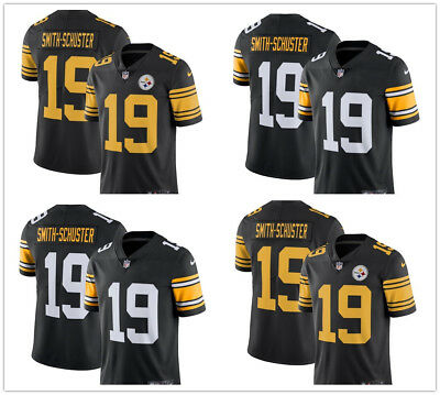 sneakers for cheap 09fbe f7de2 #19 JuJu Smith-Schuster Pittsburgh Steelers Vapor Untouchable Stitched  Jersey | eBay