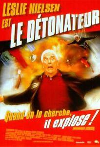 Affiche-40x60cm-LE-DETONATEUR-WRONGFULLY-ACCUSED-1998-Leslie-Nielsen-TBE