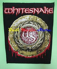 TOPPA patch WHITESNAKE 37x32  cm no cd dvd lp mc vhs live promo