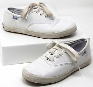 keds champion girls white casual sneakers leather shoes