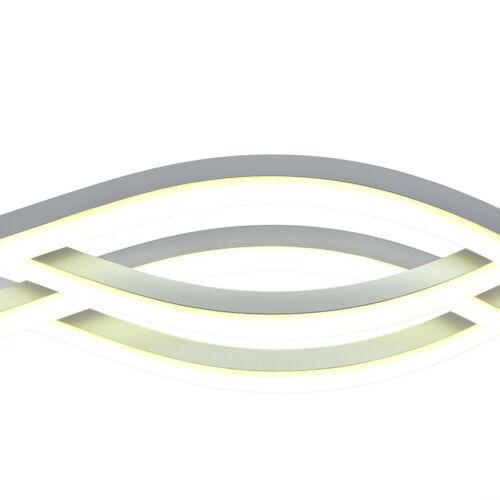80W LED Pendelleuchte Lüster Kronleuchter Deckenlampe Hängeleuchte Beleuchtung
