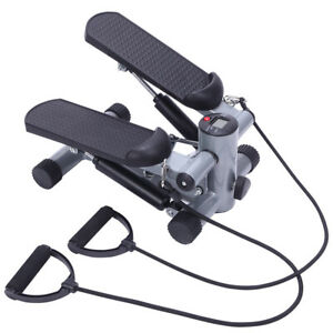 Air-Stepper-Climber-Exercise-Fitness-Thigh-Workout-Machine-Gym-Trainer-w-Bands