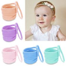 Kinder Breit Nylon Stirnband Baby Einfarbig Zum Selbermachen Queue eNwrg
