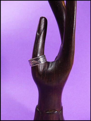Größen Blätterranken Herren Damen NEU ein Silberring 925 Ring schmal versch