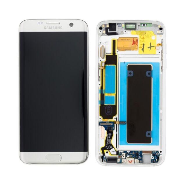 Display Lcd  Touch Screen Originale Samsung Galaxy s7 EDGE G935f SM-G935F Silver