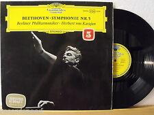 ★★ LP - HERBERT VON KARAJAN - Beethoven Symphonie Nr.5 - DGG 138 804 SLPM