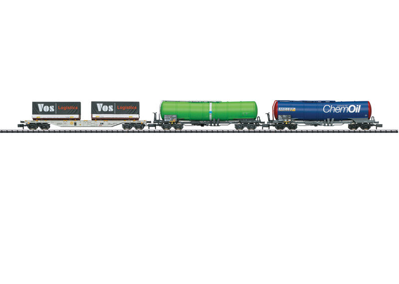 Minitrix-n - 15651 güterwagenset 3-tlg suiza ep6