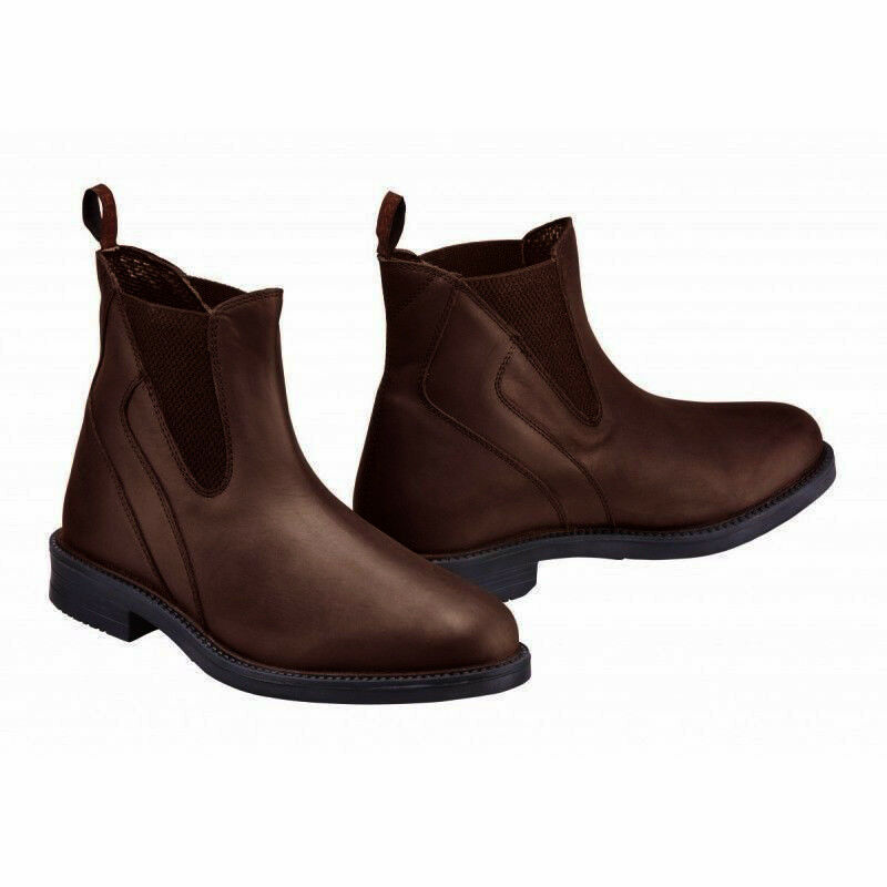 Harry  Hall Recife Waxy Pull On Brown Italian Leather Jodhpur Boot All Sizes  unique design