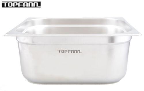 Gastronomiebehälter GN Behälter aus rostfriem Edelstahl 35,3x32,5x15 cm!13l !