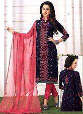 Elegant Crepe Designer Printed Unstitched Dress Material Suit D.No SFD10012