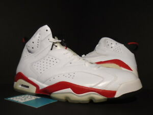 54dea879a49d20 2010 Nike Air Jordan VI 6 Retro WHITE VARSITY RED INFRARED BLACK ...