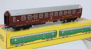 Schicht-Models-426-62-Ho-Scale-coach-Wagon-lits-Mitropa-in-maroon