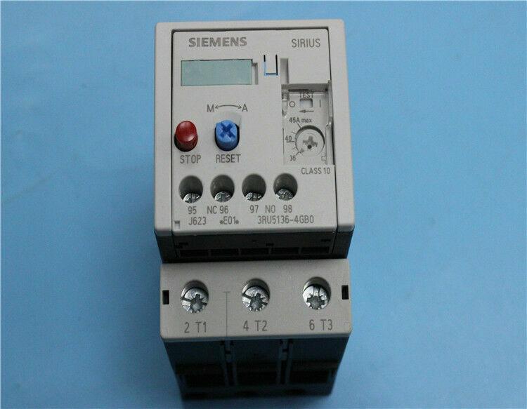 1pc    Siemens  3RU5136-4GB0  36-45A  Thermal  relay  free shipping