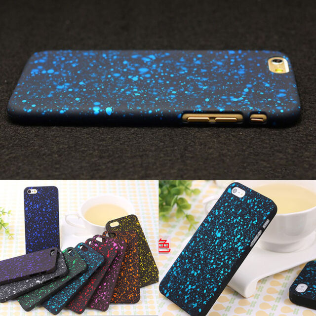 Fashion Hard Back Skin Case Cover With Shine for Apple iPhone 6/6 Plus/4S/5C/5S