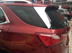ABS Rear Tail Fog Light Cover Trim 2pcs For Chevrolet Holden Equinox 2018