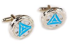 Iron Man Heart Vibranium Arc Reactor Avengers 1 2 3 Cuff Links Cufflinks Set
