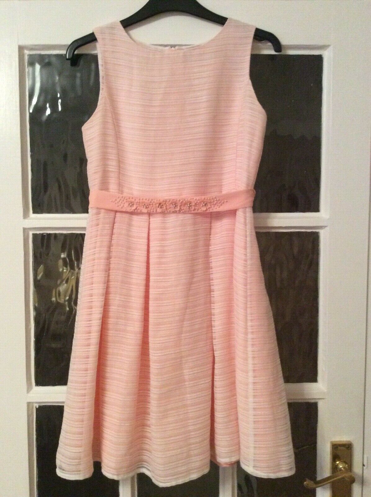 JOHN LEWIS FULLY LINED FLOWER GIRL, FORMAL OCCASION PARTY DRESS AGE 11