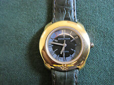 #567 ladys gold  plate BULOVA colors of benetton watch