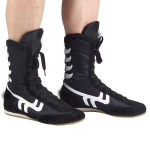 Mens high top Boxing sneakers boots