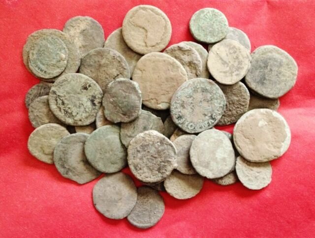 LARGE ROMAN COINS 15 to 36 mm OF LOWER GRADE, EVERY bid is per coin !!
