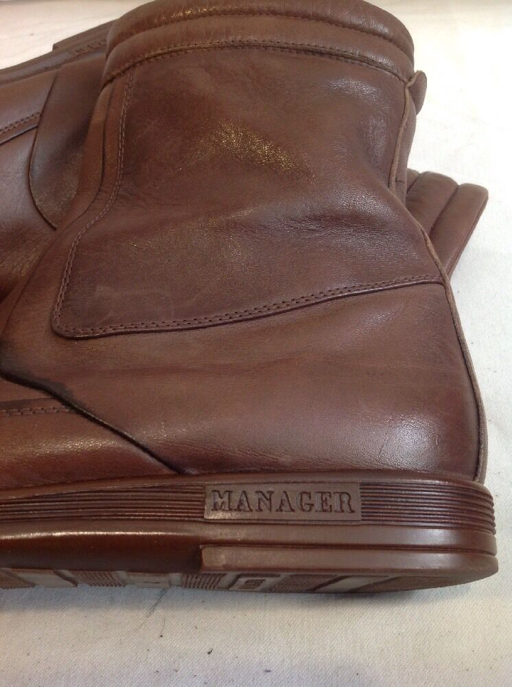 Russell&Bromley Brown 42 Ankle Leather Boots Size 42 Brown bfd7ce