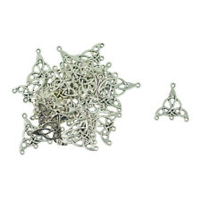 12pcs Fashion Tibetan silver exquisite cute hexagram charm pendant accessories