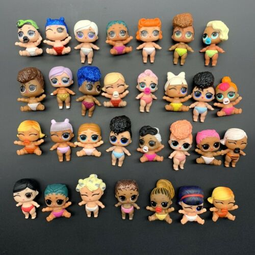 Random 5Pcs LOL Surprise Doll Lil Sisters Cute Girl Baby Figure Toys no repeat