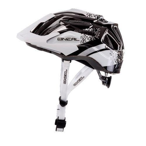 OSTERSPECIAL OSTERSPECIAL OSTERSPECIAL  Fahrradhelm Q Helmet weiß-schwarz Helm Fahrrad  ONEAL Kinder Uni 31ae5f