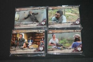 "2017 WALKING DEAD:/""SEASON 7/""  COMPLETE 100 CARD BASE SET!!"