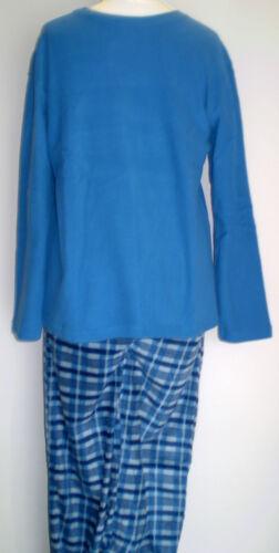 Mens Boys Polaire Pyjamas Long legged Long Sleeved Medium up to XX-Large