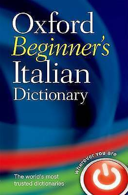 1 of 1 - Oxford Beginner's Italian Dictionary by Oxford University Press (Paperback,...