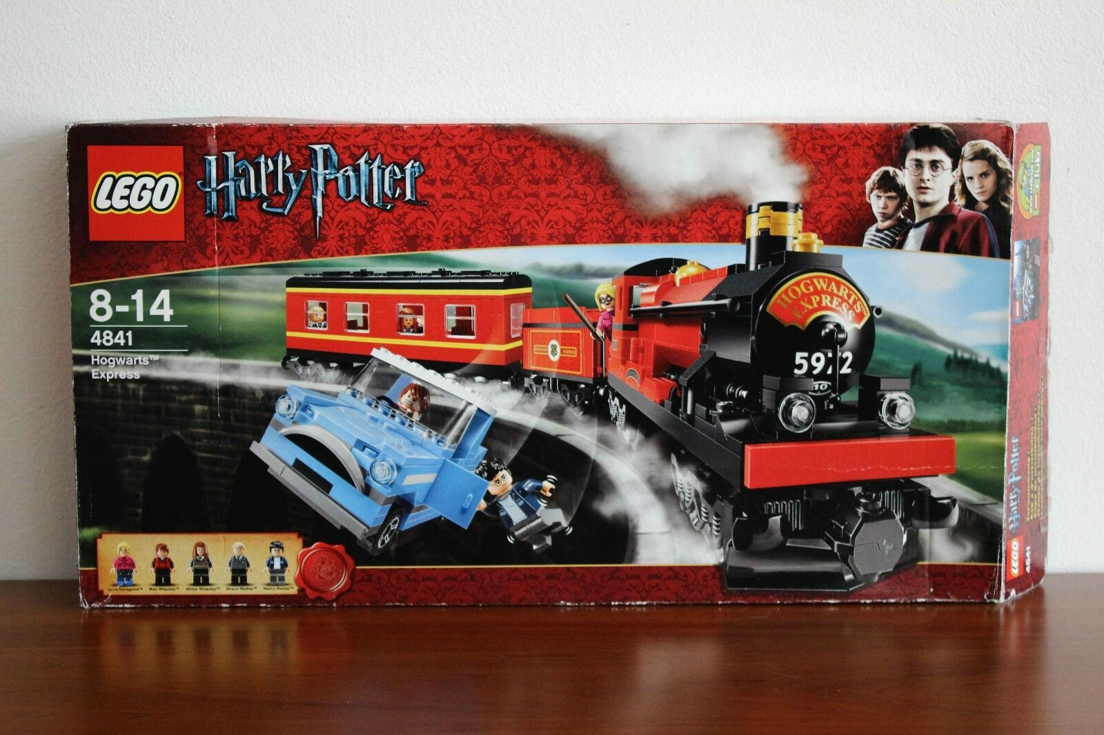 Lego Harry Potter Set 4841-1 Hogwarts Express 100% cmpl. + instr. and box