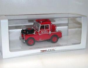 Truescale - Tsm144324 Land Rover Series 1 88 Appareil à incendie Merioneth à l'échelle 1:43 4895183600545