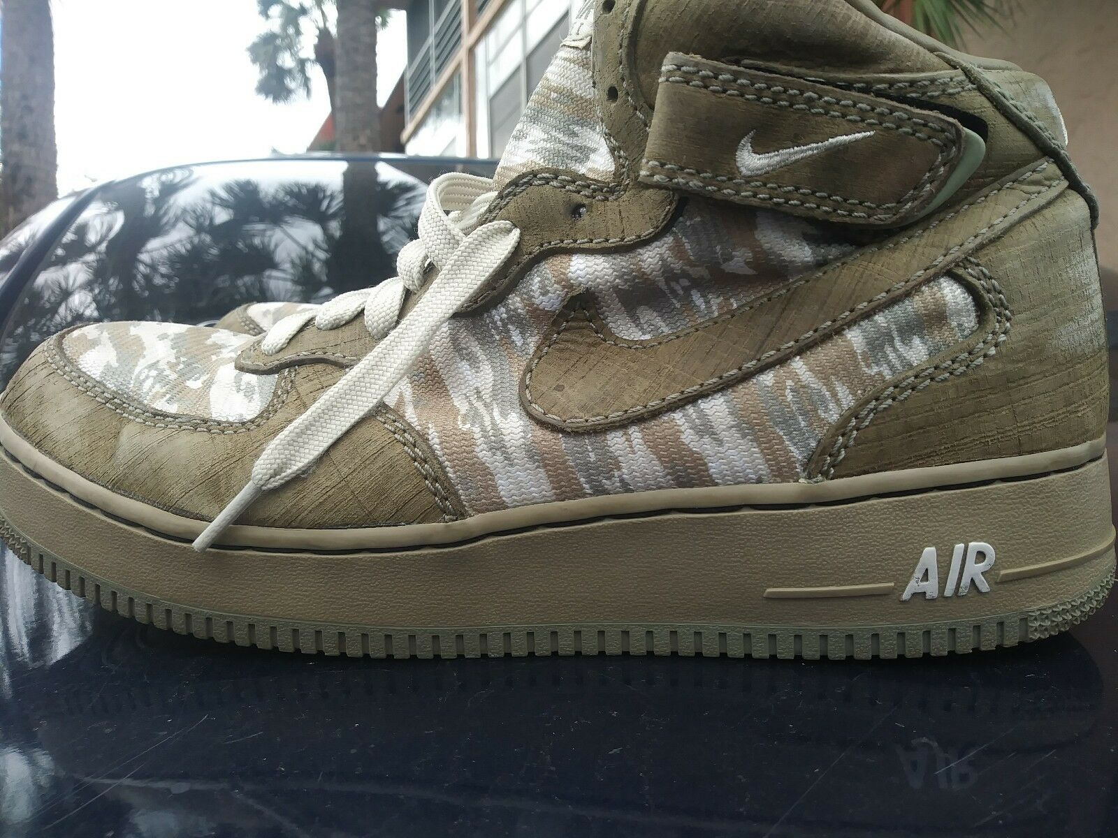 Nike Air Air Air Force 1 I Recon LIMITED EDITION 2004 Army Size 12 mid acabe9